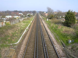 railway line in England
