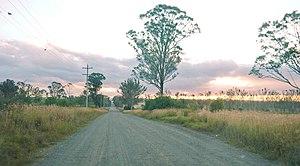 Western Sydney Airport - Image: Western Sydney (Badgerys Creek) Airport site Longleys Rd