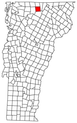 Westfield, Vermont - Image: Westfield vt highlight