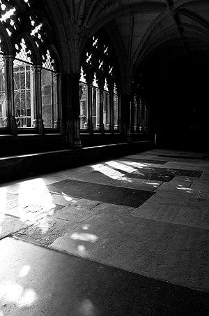 John Parsons (organist) - Cloister of Westminster Abbey