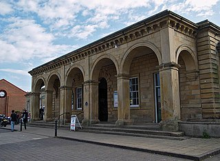 Whitby railway station Railway station in North Yorkshire, England