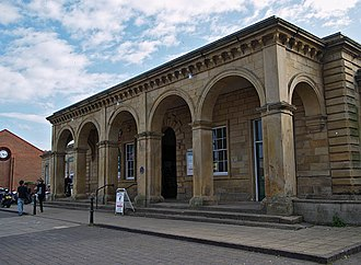 Whitby railway station - Image: Whitby railway station