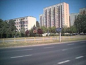 Winogrady - Osiedle Wichrowe Wzgórze seen from Aleje Solidarności