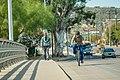 Wide bike lane on bridge (33839233015).jpg