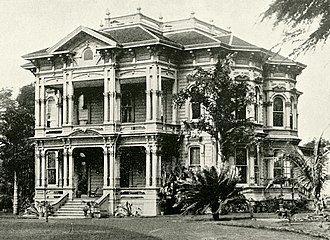 Hermann A. Widemann - Image: Widemann's Residence, Honolulu, 1900