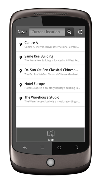 English: Wikipedia Android app