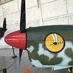 Wiki Loves Art --- Musée Royal de l'Armée et de l'Histoire Militaire, Hall de l'air, Nord 1002 Pingouin (détail).jpg