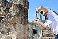 Wiki Loves Monuments 2014 in Israel Tour of Tel Yokneam IMG 2154.JPG