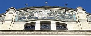 Hotel Metropol Moscow - Image: Wiki Metropol Hotel Moscow Artwork 1