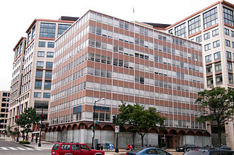 Federal Mediation and Conciliation Service (United States) - Former Federal Mediation and Conciliation Service headquarters in Washington, D.C. (now demolished)