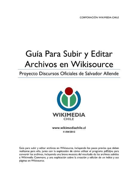 File:Wikimedia Chile - Guía para subir y editar archivos en Wikisource (FSA).pdf