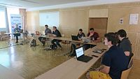 Wikimedia Hackathon 2017 IMG 4281 (34715783246).jpg