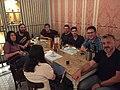 Wikimedia Hackathon 2018 organising group kick off meeting in Barcelona.jpg