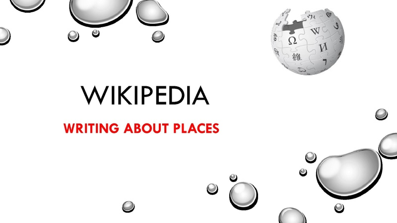 File:Wikipedia - Writing about places.pdf