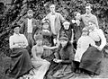 William Bayliss, E.H. Starling and family group. c.1890. Wellcome L0025166.jpg