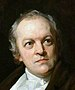 William Blake na portrétu od Thomase Phillipse (výřez)
