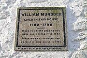 William Murdoch placque