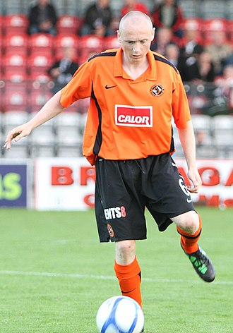 Willo Flood - Flood in action for Dundee United back in 2011