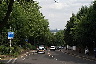 A219 road - Image: Wimbledon Hill Road geograph.org.uk 1339271