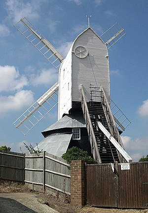 Herstmonceux - Image: Windmill Hill Mill