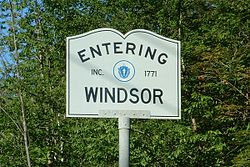 Windsor, Massachusetts.