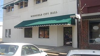 Winnfield, Louisiana - Winnfield City Hall