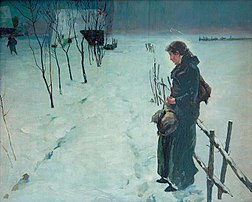 Winter landscape. Christmas Eve, 1890.jpg