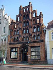 Late medieval Gothic brick architecture in Wismar