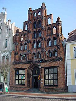 Lista del Patrimonio Mundial. 250px-WismarAlterSchwede