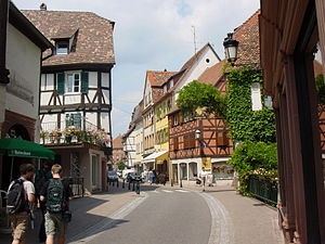 Auguste Dreyfus - Wissembourg, where Dreyfus was born