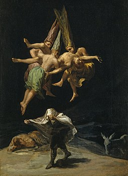 Witches Flight Goya