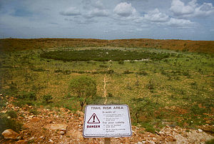 Wolfe Creek Crater - Wolfe Creek Meteor Crater.
