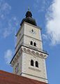 Wolfsberg - Pfarrkirche - Kirchturm.jpg