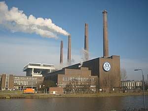 Factory - Volkswagen factory in Wolfsburg, Germany