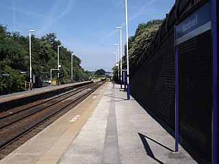 Wombwell railway station Railway station in South Yorkshire, England