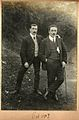 Wonderful 1907 moustaches -2 - walking stick and cigarettes (6368412285).jpg