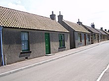 Traditional cottage row workers housing