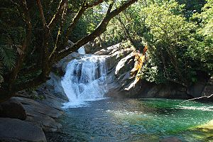 Wet Tropics of Queensland - Josephine Falls, 2008