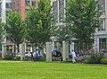 Workers relaxing in boulevard park Carlyle Alexandria (4907645691).jpg