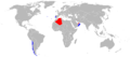 World operators of the EADS CASA C-295 Persuader.png