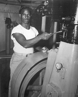 T-shirt - US Merchant Marine sailor in 1944