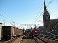 Wykolejenie pociągu towarowego 6 marca 2011 w Gdańsku Wrzeszczu.JPG
