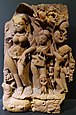 Yamuna, north India, 10th century AD, sandstone - Linden-Museum - Stuttgart, Germany - DSC03844.jpg