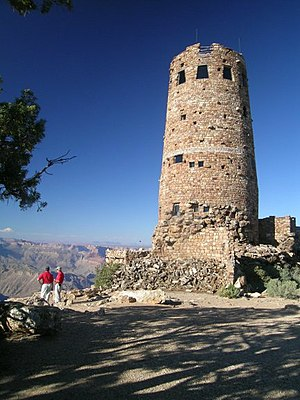Mary Colter - Desert View Watchtower (1932) Grand Canyon National Park South Rim