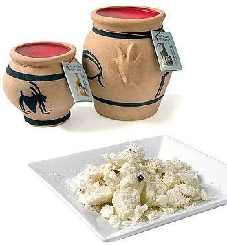 Goat cheese - Goat cheese from Yeghegnadzor, Armenia