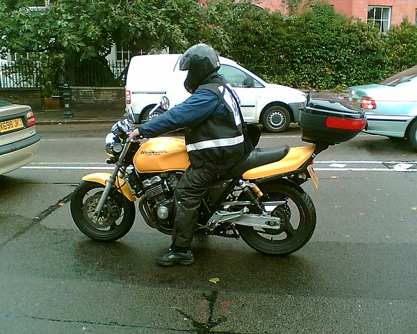 Motorcycle courier