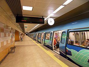 M4 (Istanbul Metro) - Yenisahra station
