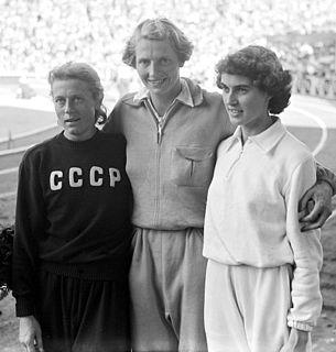 Dorothy Manley British athlete
