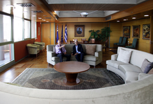 220px Yiannis Boutaris with George Papandreou in the Thessaloniki City Hall Wikipedia hotels room rent