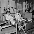 Yitzhak Ben Zvi, de tweede president van Israel van 1952 tot 1963, en zijn echtg, Bestanddeelnr 255-4235.jpg